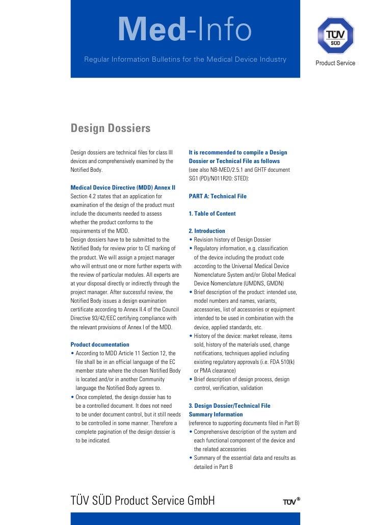 Med-Info      Regular Information Bulletins for the Medical Device Industry                                         Produc...