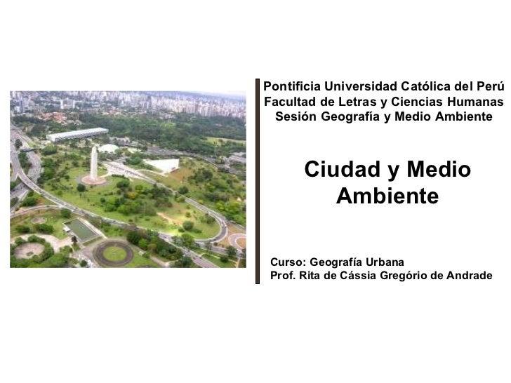 Medio ambiente urbano[1]