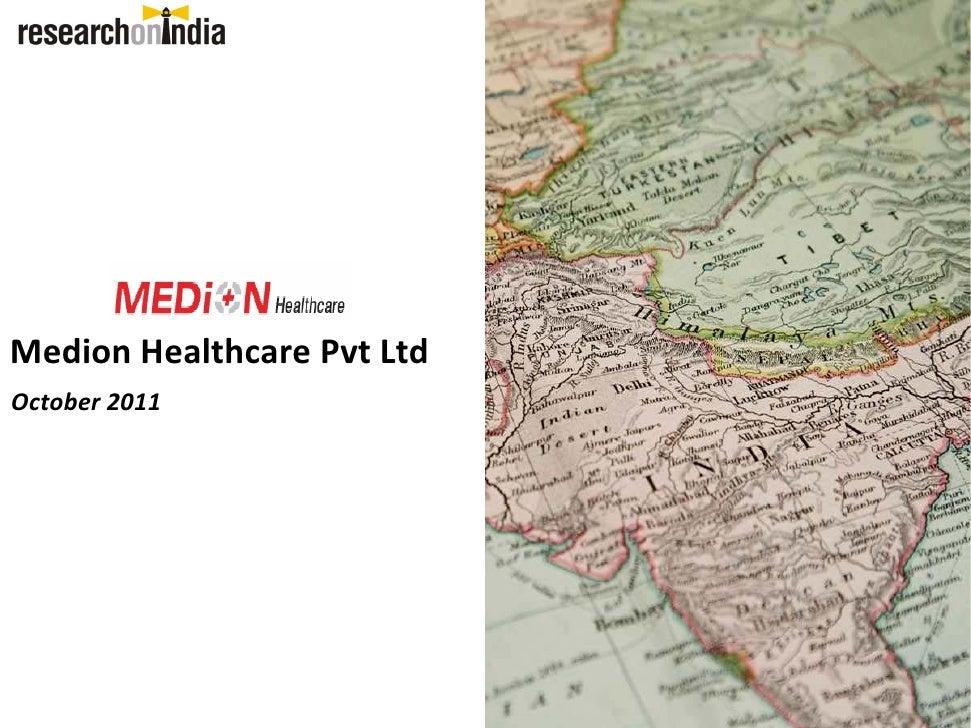 Medion healthcare pvt ltd. - company Profile