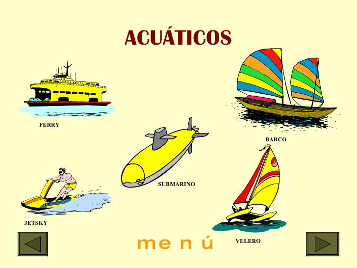 Medios de transporte aereo terrestre y acuatico - Imagui