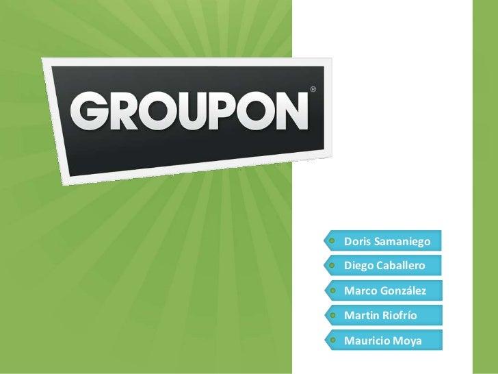 Modelo de negocio Groupon_MDyM
