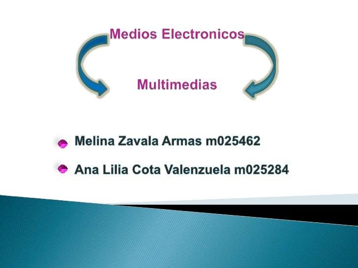 Medios Electronicos 2