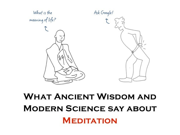 What is the      Ask Google! meaning of life?         w         wWhat Ancient Wisdom andModern Science say about      Medi...