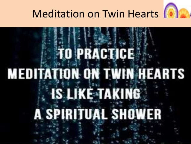Meditation Twin 2 Meditation on Twin