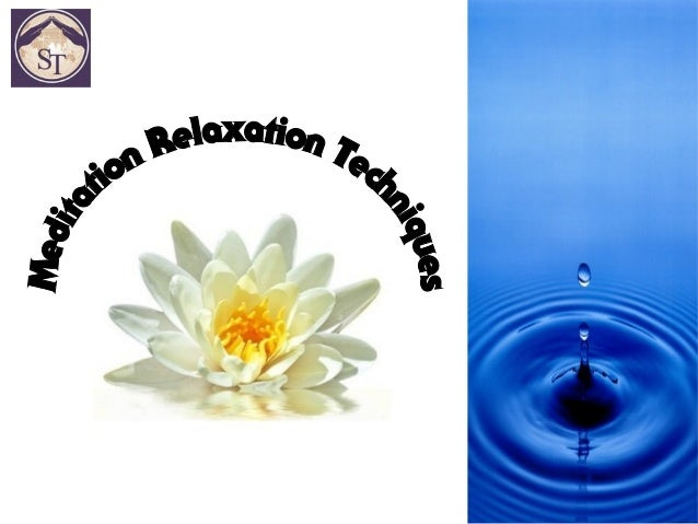 Meditation relaxation techniques anxiety