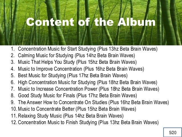 How to concentrate on my studies?