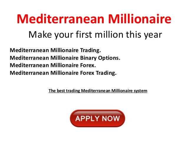 Millionaire from binary options