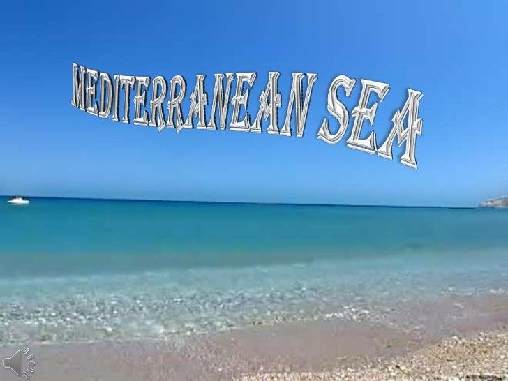 Mediterranean Sea<br />