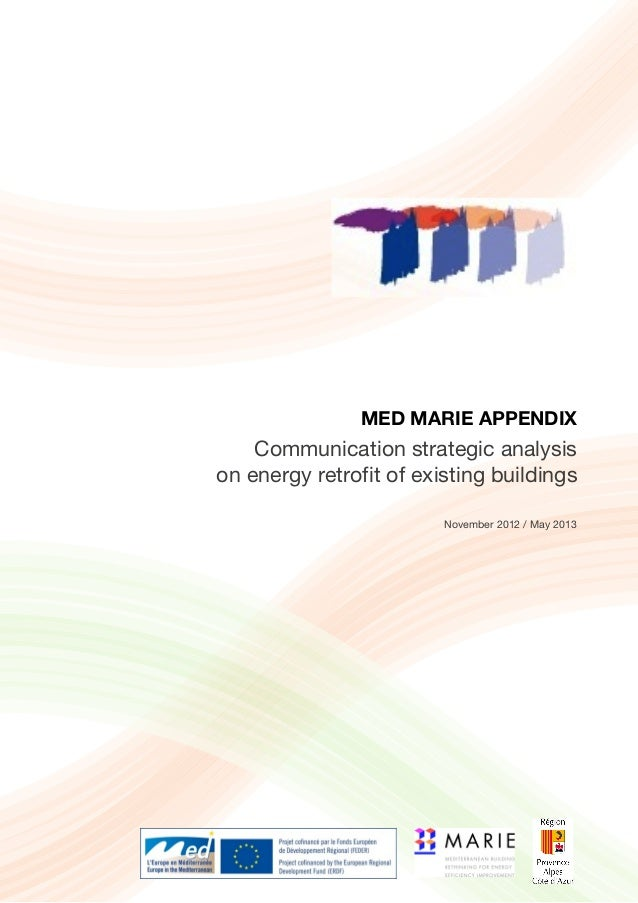 MARIE MED ANNEXES - Communication strategic analysis on energy retrofit of existing buildings