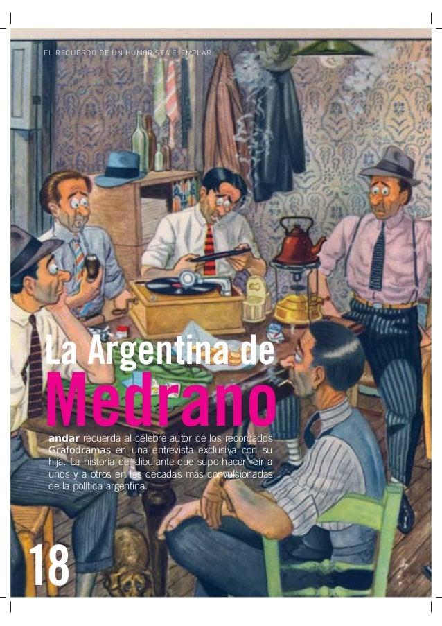 18 Obra Social de Viajantes Vendedores de la República Argentina EL RECUERDO DE UN HUMORISTA EJEMPLAR 18 andar recuerda al...