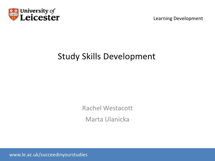 Study Skills Development Medics 2