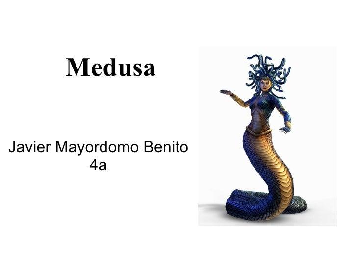 Medusa Javier Mayordomo Benito 4a