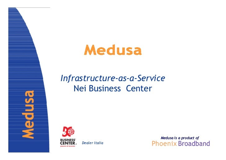 Infrastructure-as-a-Service    Nei Business Center                         Medusa is a product of     Dealer Italia