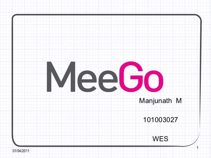 Meego presentation