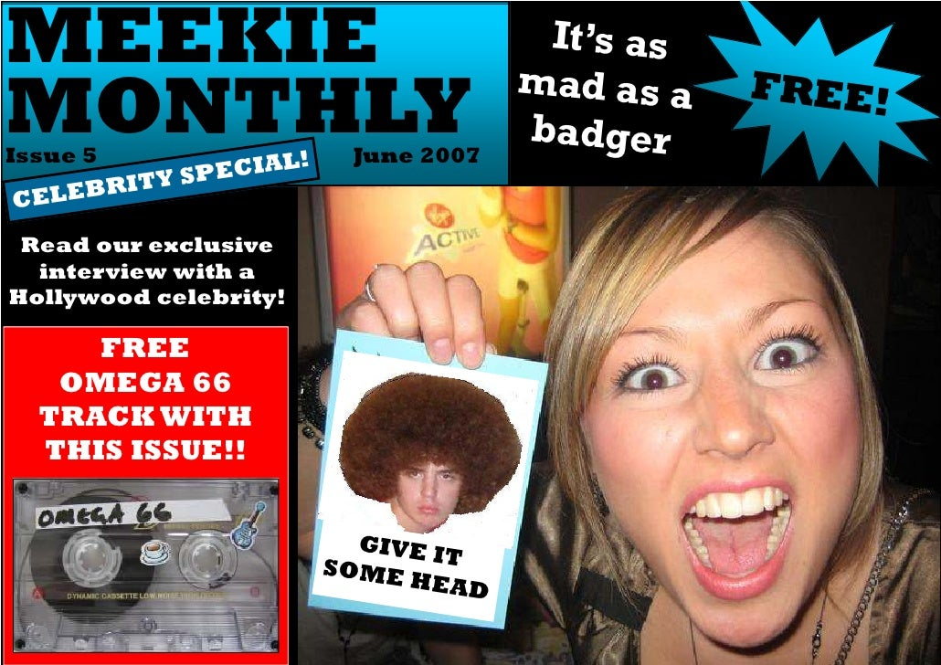 Meekie Monthly, Issue 5