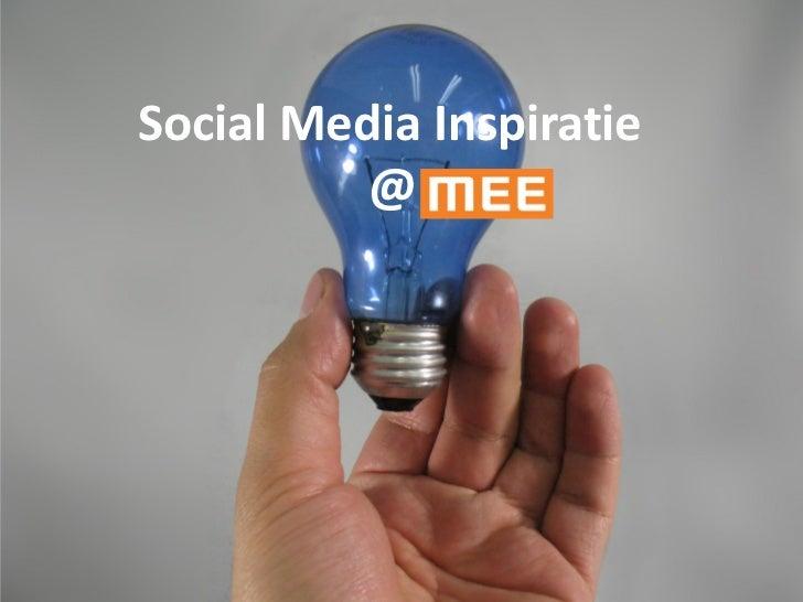 Mee Plus Groep -  social media inspiratie