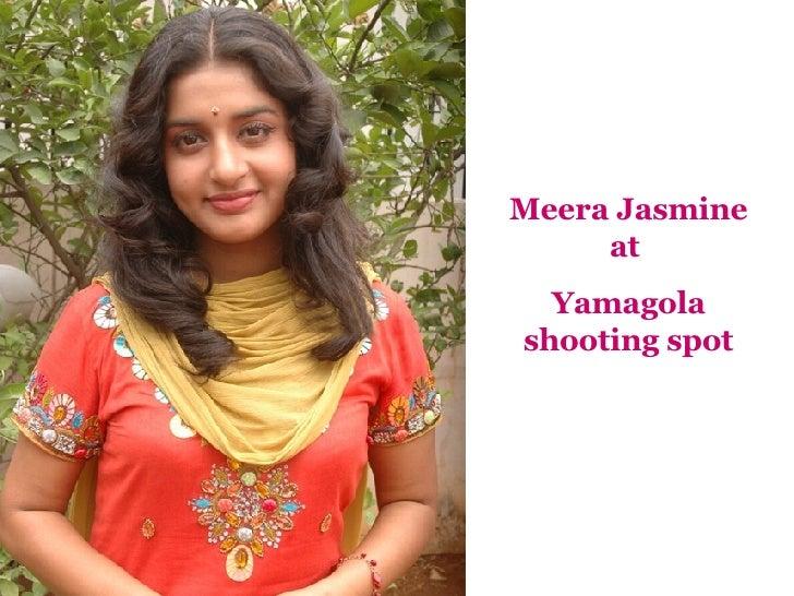 Meera Jasmine Movie Shoot