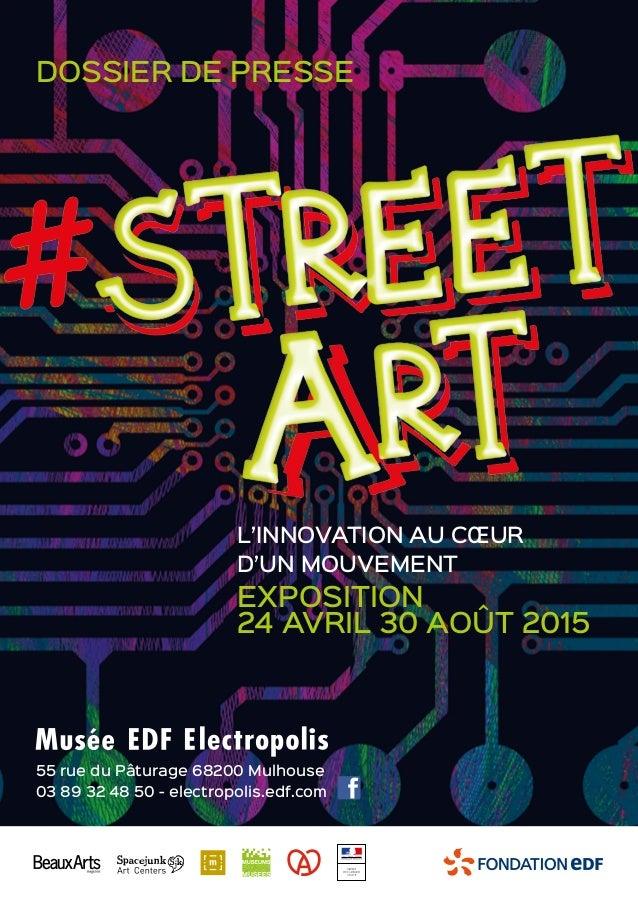 55 rue du Pâturage 68200 Mulhouse 03 89 32 48 50 - electropolis.edf.com EXPOSITION 24 AVRIL 30 AOÛT 2015 L'INNOVATION AU C...