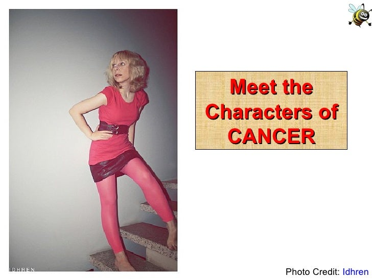 Photo Credit:  Idhren Meet the Characters of CANCER