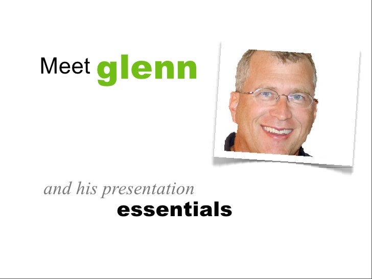 Meet Glenn