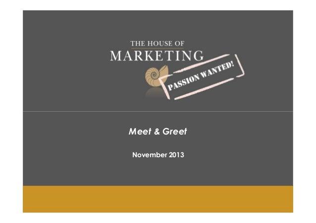 Meet greet presentation 2013