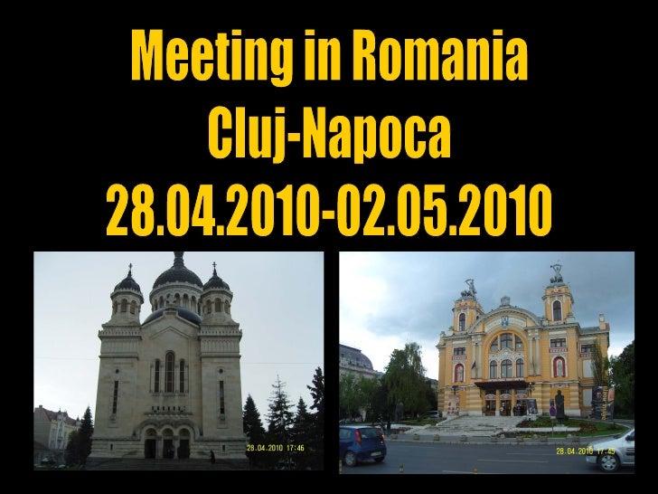 Meeting in Romania