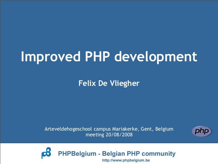 Improved PHP Development