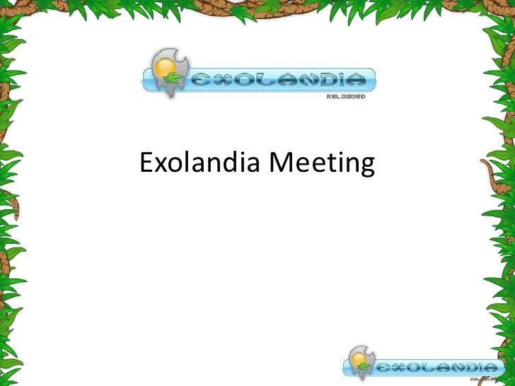 Exolandia Meeting<br />