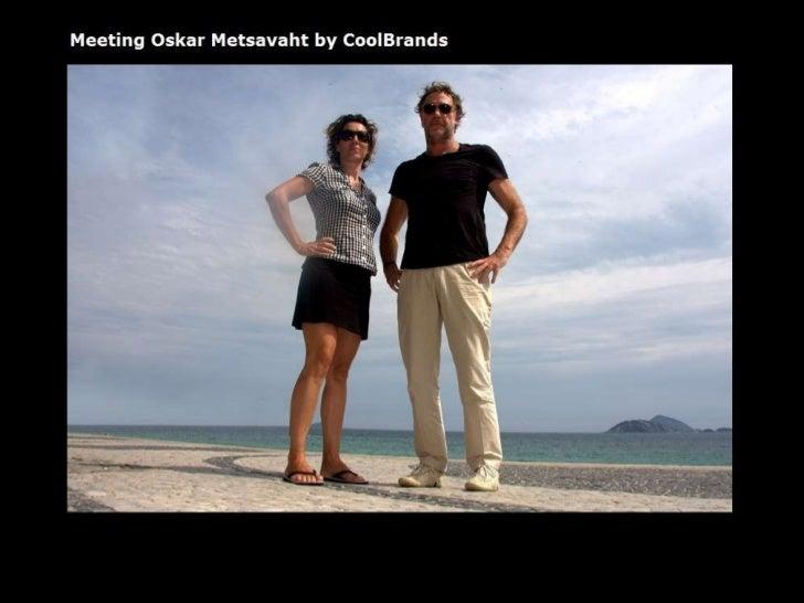 Meeting Oskar Metsavaht fashion designer Osklen - by CoolBrands