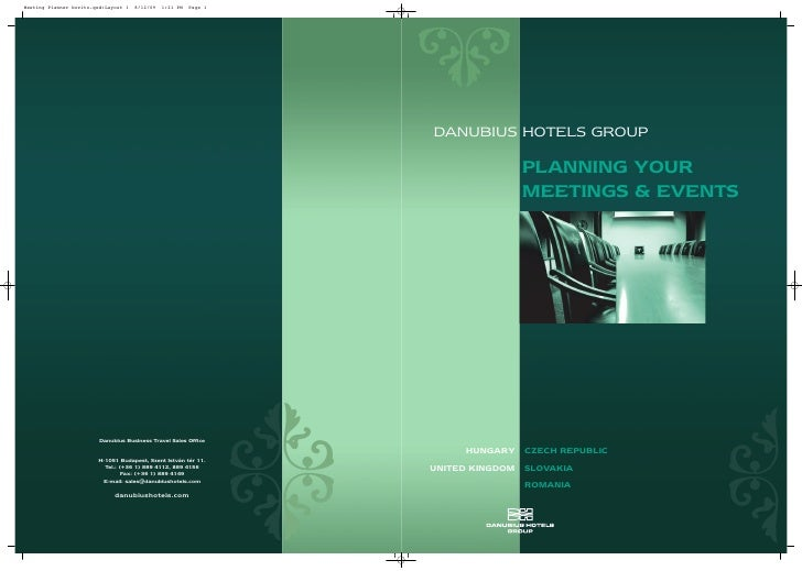 DANUBIUS HOTELS GROUP                                                           PLANNING YOUR                             ...