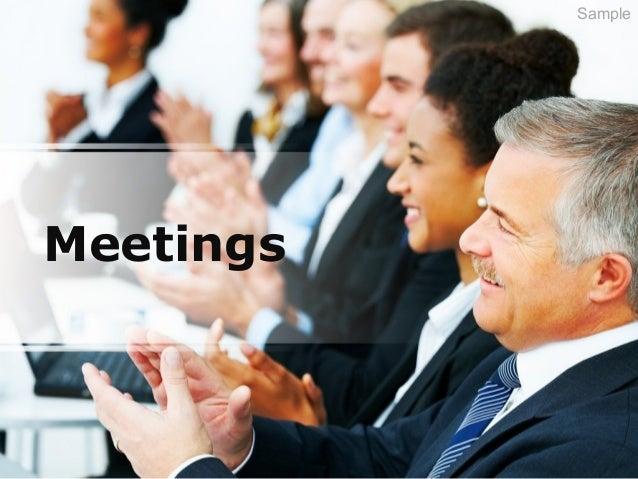 Meetings Sample