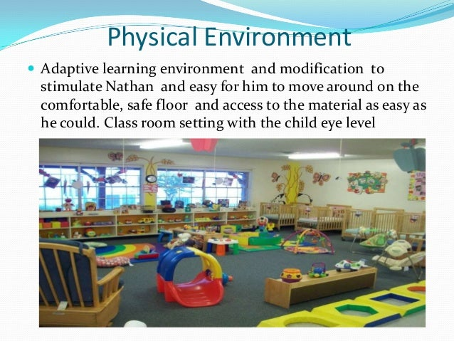 Physical Environment Child Care Setting