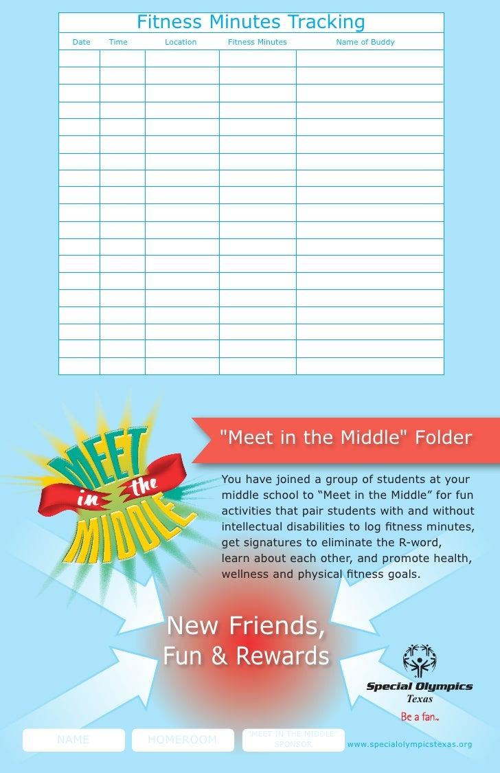Meet In The Middle Menu Folder