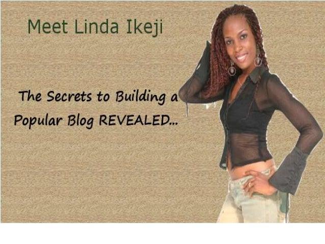 Linda Ikeji Owner of Linda Ikeji Blog Has Secrets to Building a Successful Blog