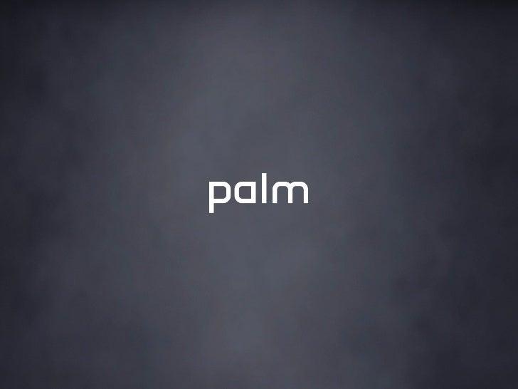 Meet Mojo @ Palm Developer Day, 4/24/2010