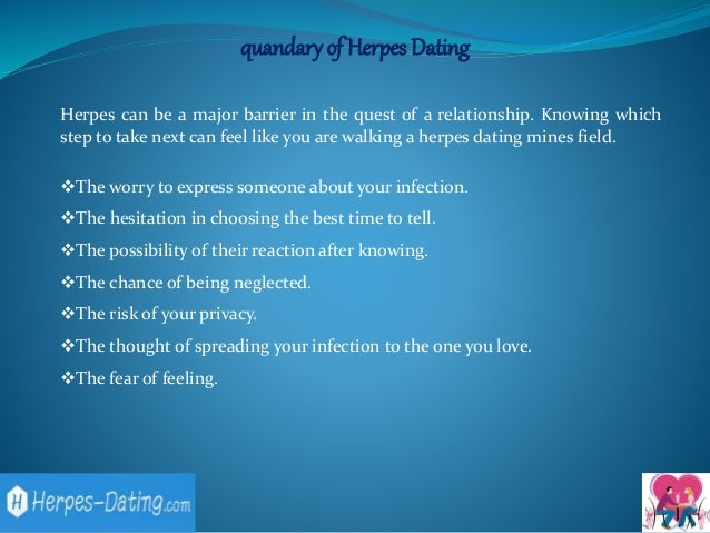 Totally free dating sites for people with herpes