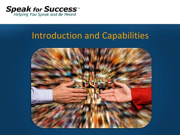 Meet speak for success