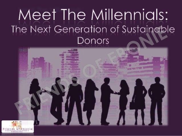 Meet the millennials presentation shared
