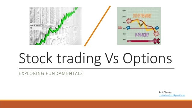 Trade options vs stocks