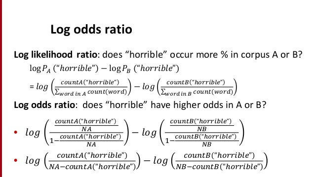 online odds ratio