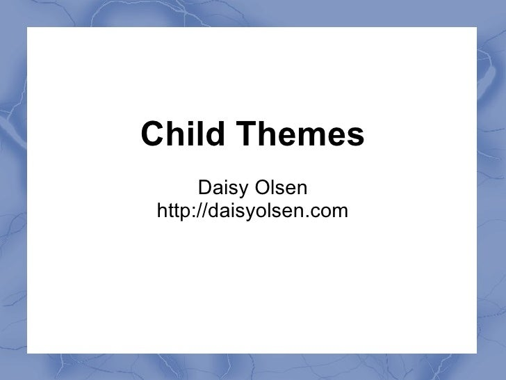 Meetup child-themes