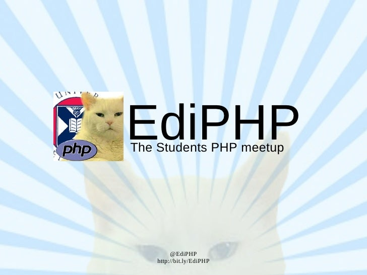 EdiPHP The Students PHP meetup