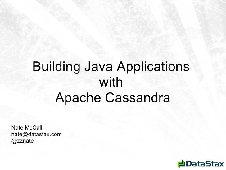 Meetup cassandra for_java_cql