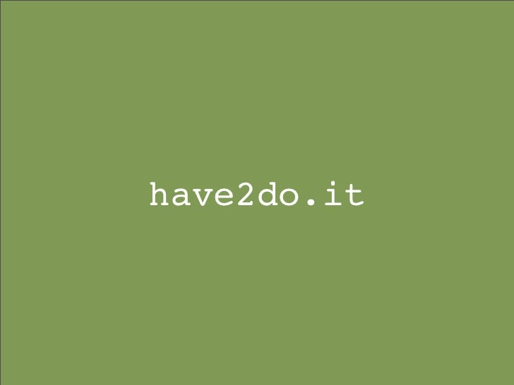 have2do.it