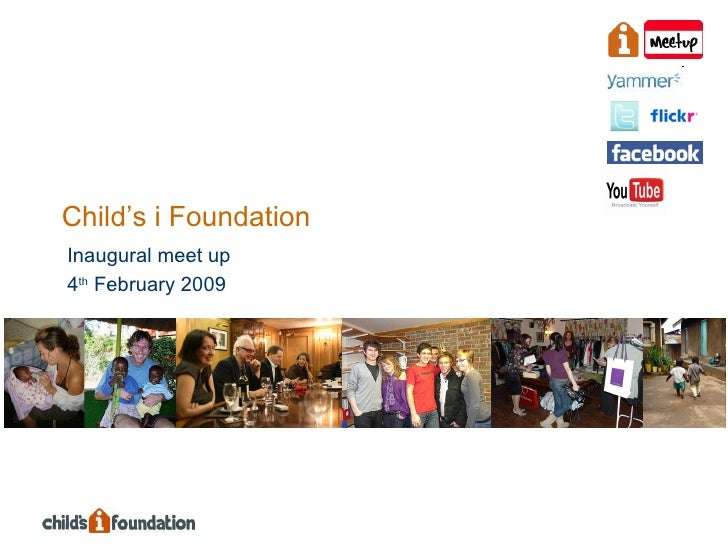 Inaugural Child's i Foundation Meetup