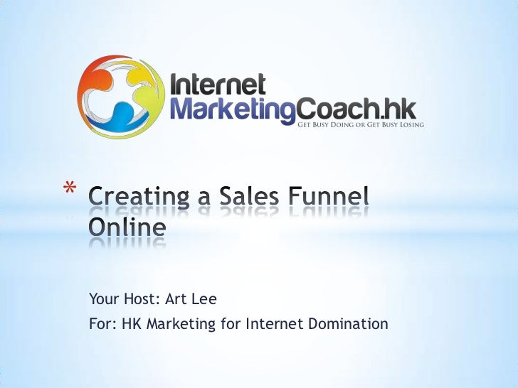 Creating a Sales Funnel System Online Hong Kong