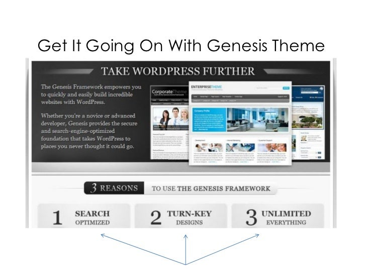 Get It Going With Genesis