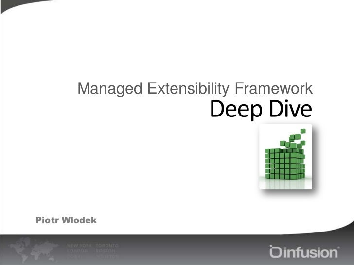 Managed Extensibility Framework<br />Deep Dive<br />Piotr Włodek<br />