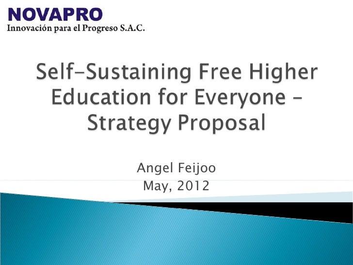 Angel Feijoo May, 2012
