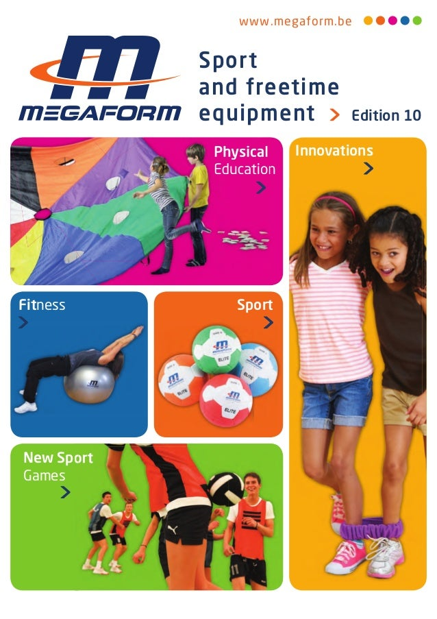 www .megaform .be Sport and freetime equipment Edition 10 New Sport Games InnovationsPhysical Education SportFitness Physi...